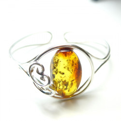 Honey amber bracelet - excelent, beautiful stone