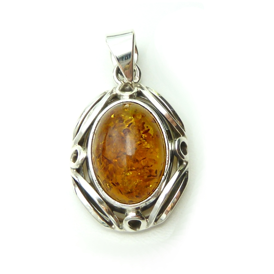 Baltic Amber Pendant -  Beauty