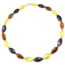 Multicolor baltic amber necklace (Baltic Amber Beads Necklace)